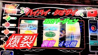 PIONEER   懐かしの爆裂沖スロ裏物4号機【ハイハイ  シオサイ(Hai Hai Siosai) 】 32Gバージョン