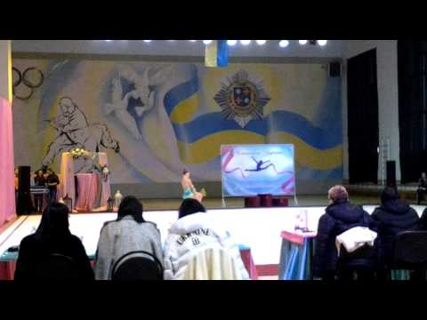 Valentirova Anastasiia V Sports Games of pupils of Ukraine 2016, clubs
