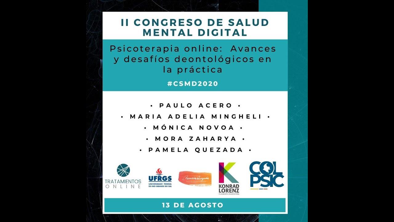 II Congreso de Salud Mental Digital 2020