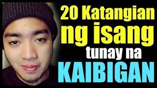 20 Signs ng isang tunay na kaibigan