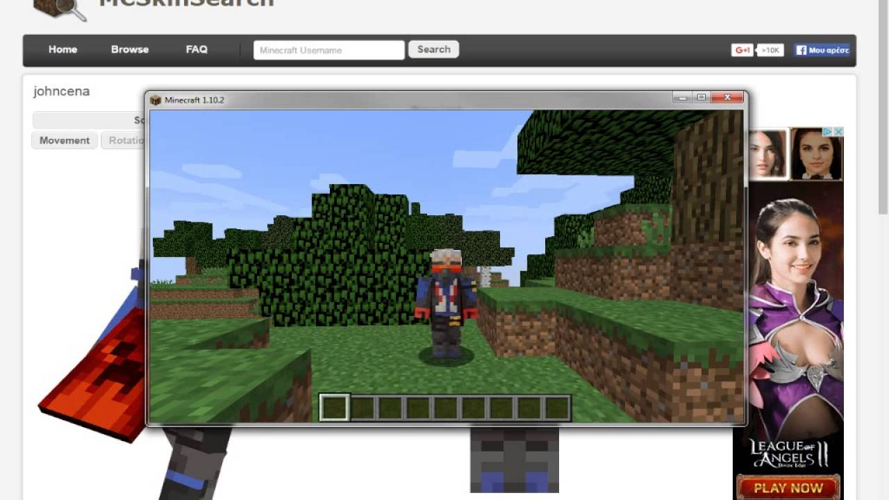 Minecraft- HOW TO GET FREE SKIN WITH MINECON CAPES FOR ...