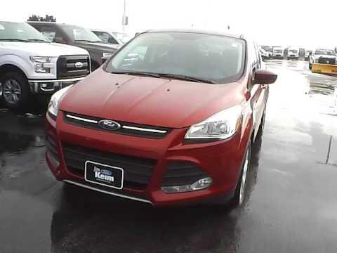 Jim Keim Ford >> T16332 2016 Ford Escape SE For Sale Columbus Ohio - YouTube
