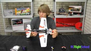 UMX Sbach 342 BNF by E-flite Unboxing & Review