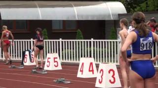 Athletics Universities Summer 2010 final 200m women