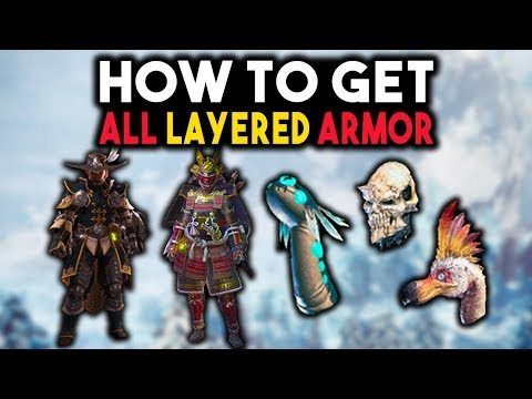 How To Get All Layered Armor Sets - Monster Hunter World Layered Armor Complete Guide