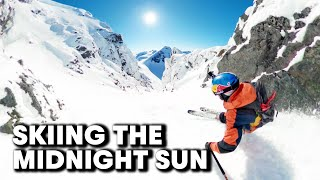 Above The Arctic Circle | Skiing The Midnight Sun