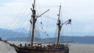 Ships Ahoy! Lady Washington & Hawaiian Chieftain sailings in Vancouver
