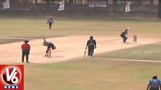 Telangana T20 League | Hyderabad, Rangareddy, Adilabad, Medak Teams Enters Into Semi-Finals | V6