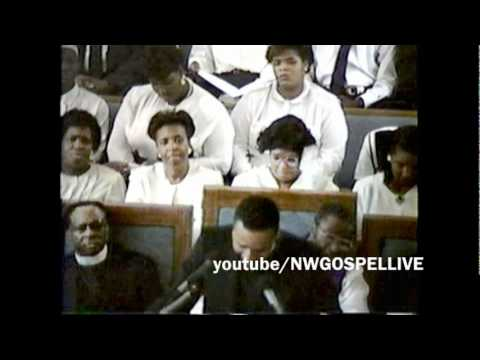 WA State COGIC 1991 Convocation Communion Service Pastor Sam Townsend preaches part 1