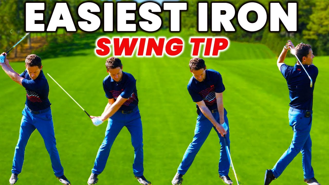 The IRON SWING is so much easier when you know this - AMAZING DRILL!