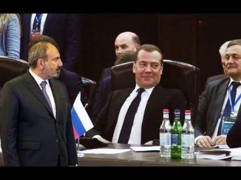 Д. Медведев посмеялся над Пашиняном.