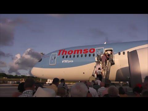 Thomson Boeing 787-8 Dreamliner | Departure from Barbados