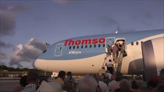 Thomson Boeing 787-8 Dreamliner | Departure from Barbados