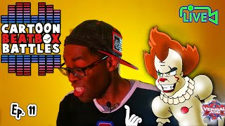 Pennywise Vs Groot Live - Cartoon Beatbox Battles