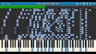 사람이 칠 수 없는 피아노 곡 - 2 An Unplayable Piano Piece!! (An Incredible Piano Piece)