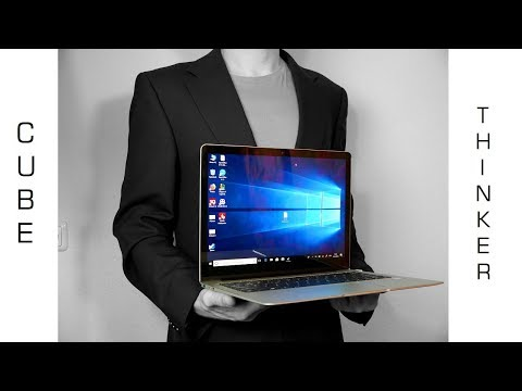 💻 ALLDOCUBE / CUBE Thinker i35 - Das China Surface Notebook ? - Test - Deutsch - Moschussd.de