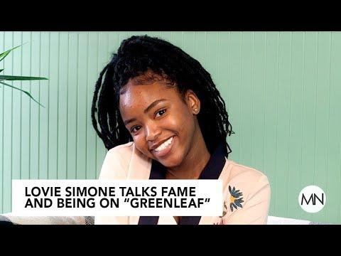 """Greenleaf"" Star Lovie Simone Talks Fame And Working With Oprah"