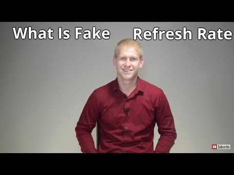 Fake Refresh Rate Explained, Simulated, TruMotion, Motion Rate, MotionFlow, Clear Action, AquoMotion
