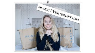 One of Freya Farrington's most viewed videos: HUGE MARCH 2018 PRIMARK HAUL & TRY ON | Freya Farrington