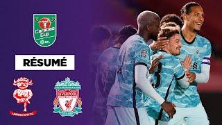 Résumé - Carabao Cup : Liverpool fait vivre l'enfer à Lincoln !