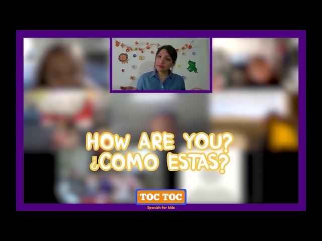 CLASE DE ESPAÑOL para niños ¡ANIMALES 🐶, LETRAS 🔡, COLORES 🌈 Y MÁS! ⭐ - Toc Toc Spanish 🚪