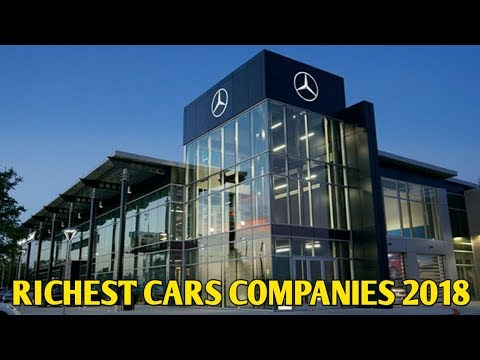 Top 10 Richest Cars Companies In The World 2018