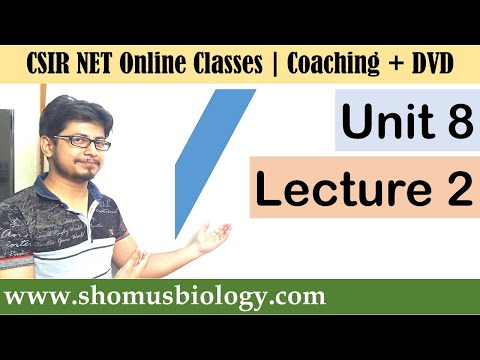 csir-net-life-science-lectures---unit-8-lecture-2