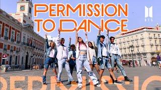 [K-POP IN PUBLIC SPAIN] BTS (방탄소년단) - 'Permission to Dance'| KPOP Dance Cover by Nova Big Family