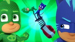PJ Masks em Português ⭐️ Duplos! ⭐️ Compilação de episódios | Desenhos Animados