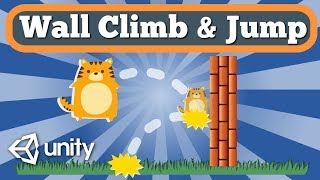 Unity Tutorial About How To Make Wall Jumping Feature For Simple 2D Arcade Platformer Game.
