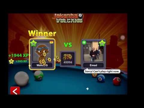 8 BALL POOL(JAKARTA TABLE + AWESOME BANK SHOT)