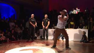 GROOVE'N'MOVE BATTLE 2015 - JR BOOGALOO Judge Demo