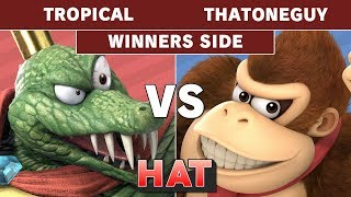 HAT 58 - Tropical (King K Rool) Vs. CHS | ThatOneGuy (Donkey Kong) Winners Side - Smash Ultimate