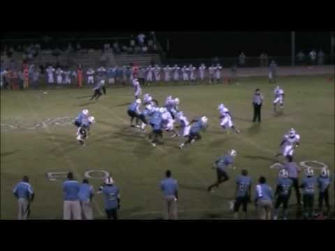 AJ Hopkins Ridge Spring Monetta High School football Highlights