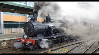 Australian Trains: Steam Locomotives in Action - 2017 Review