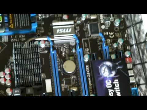Reducing the Northbridge temps on the MSI X58 PRO-E Motherboard