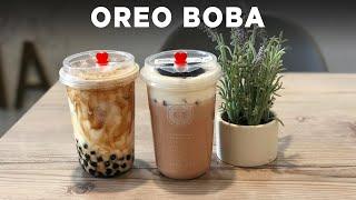 Oreo Boba
