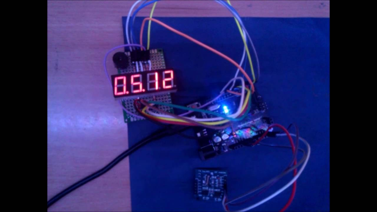 Arduino at c ds real time clock segment