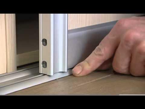 Fabriquer une armoire à paroi coulissante