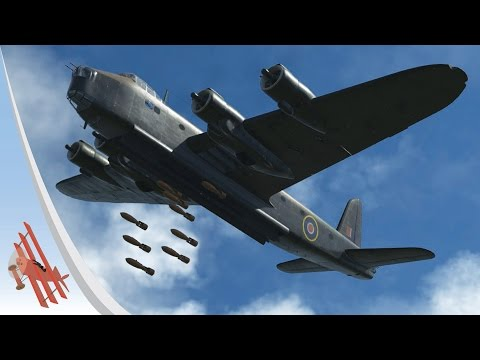 War Thunder Gameplay - A Stirling Experience