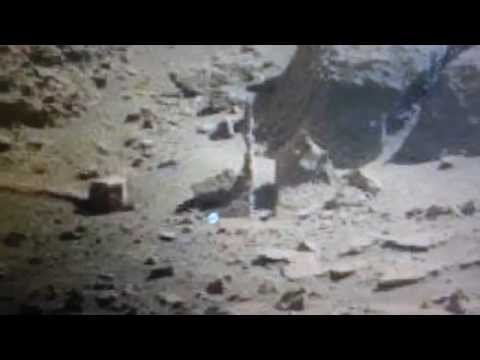 NASA SOL 603 - MARS CURIOSITY ROVER MORE STATUES,METAL ANOMALIES