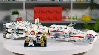 LEGO Star Wars Tantive IV | Designer Video Review & Interview 75244