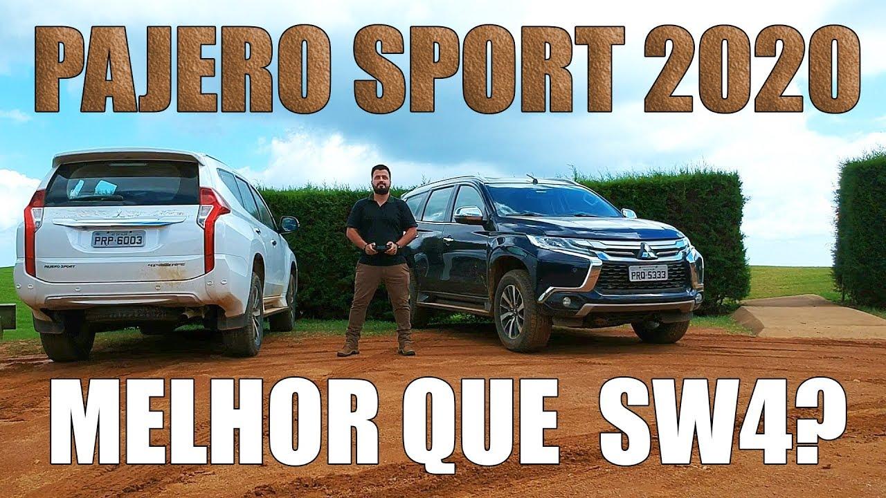 OFF ROAD - Pajero Sport 2020 é melhor que a SW4?