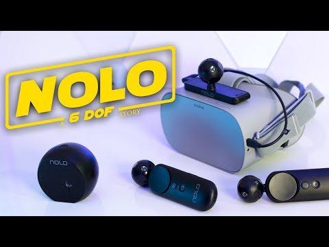 NOLO A 6DOF STORY!! Nolo CV1 Oculus Go Review