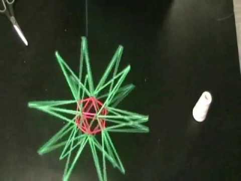 Straw Diagram #1: Stellated Icosahedron