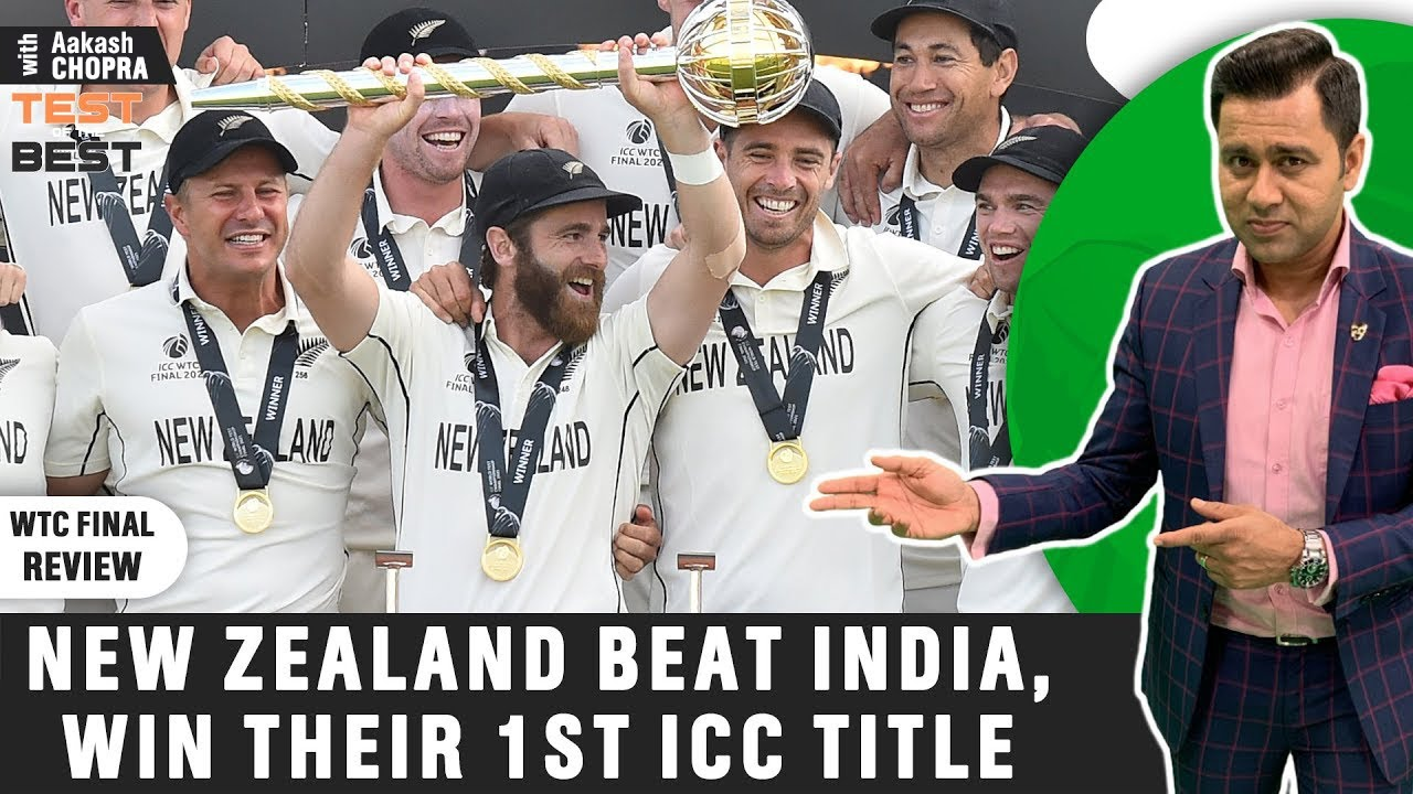 New Zealand WIN the first WTC | Where did IND go Wrong? | Betway Test of the Best | Aakash Chopra