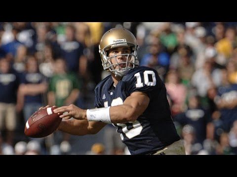 Brady Quinn on playing at Notre Dame (9/7)