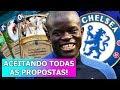 ATP BEM LOUCO NO CHELSEA COM CARTAS! | ACEITANDO TODAS AS PROPOSTAS: CHELSEA (Desafio)