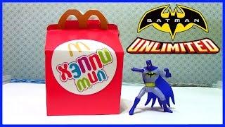Хэппи Мил Бэтмен Happy Meal McDonald's Batman Unlimited