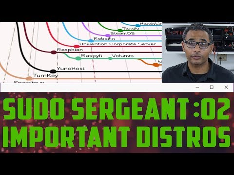 sudo Sergeant 02 - Which Distributions are Important?